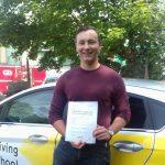 Matt T - Driving Test Certificate